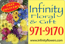 Florist magnetic sign