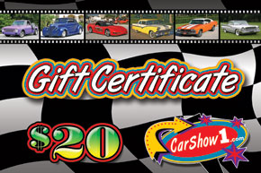 20 Gift certificate postcard