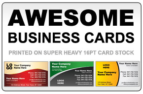 Heavyweight Business Cards