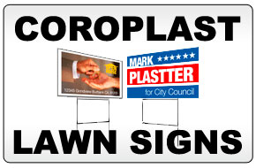 Coroplast Lawn Signs