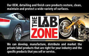 The Lab Zone postcard