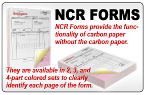 Custom NCR Forms